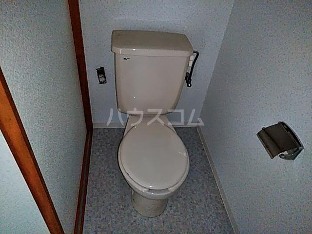 ネクストライフ白沢 201号室のトイレ