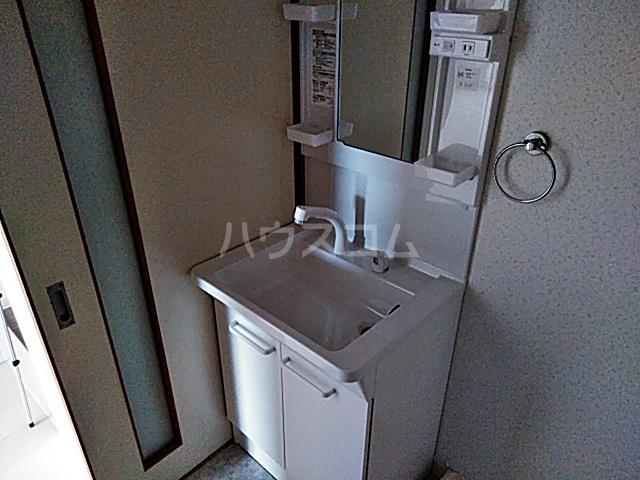 ネクストライフ白沢 201号室の洗面所