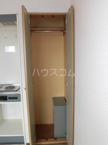 細貝友光会館 218号室の収納