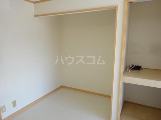 百草ハイツ 202号室の収納