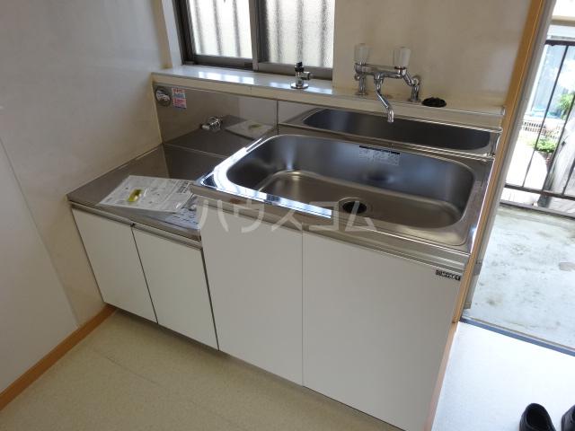 百草ハイツ 202号室の洗面所