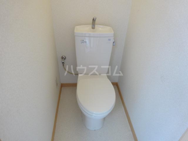 百草ハイツ 202号室のトイレ