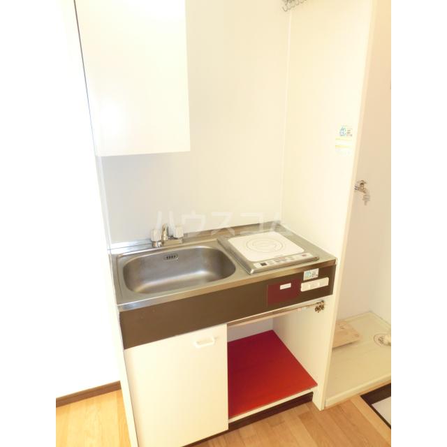 メゾン・ド・ラフィーネ 105号室のキッチン