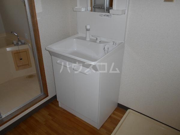 ホープ21 503号室の洗面所