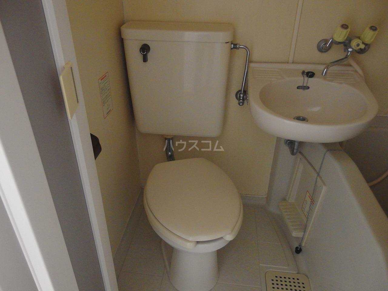 ドリームマンション 102号室のトイレ