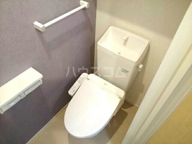 エアリーウッド 01010号室のトイレ