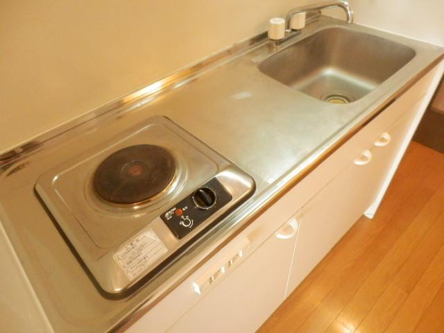 ミユキコーポ 305号室のキッチン