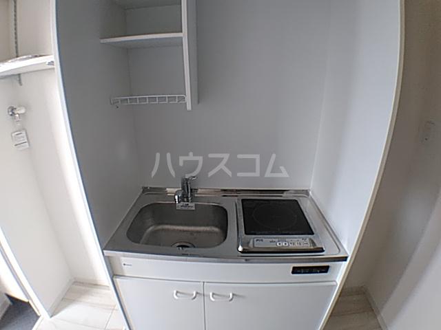 メルディア八王子長沼 202号室のキッチン