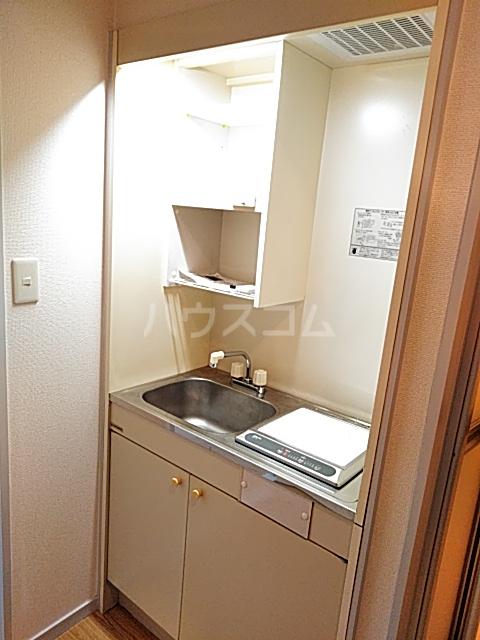 グランフォーラム 105号室のキッチン