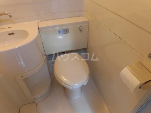 ホワイトプラザ 101号室のトイレ