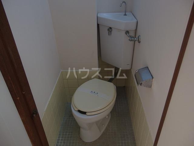 コーポ第一大木 203号室のトイレ