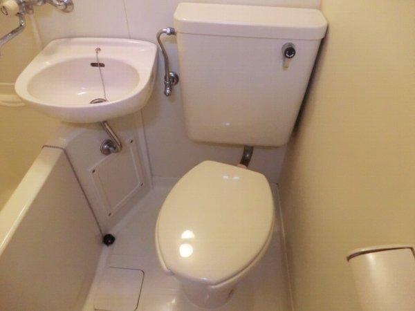 コーポサンドエル 206号室のトイレ