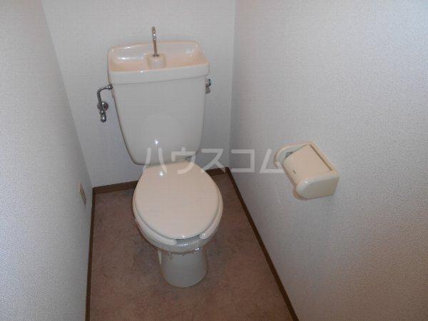 セントポーリアA A201号室のトイレ