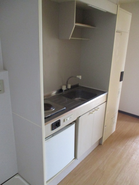 プリミエール八田 401号室のキッチン