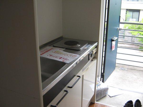メゾンド・マリオ 102号室のキッチン
