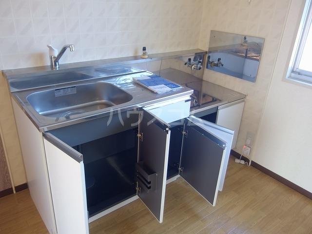 シャトーハイツ 202号室のキッチン