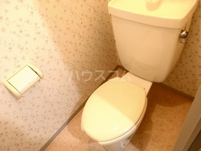 シャトーハイツ 202号室のトイレ