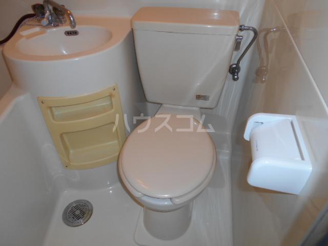 第3一水荘 205号室のトイレ