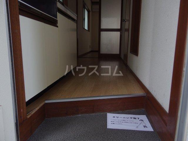 ちとせハイム 102号室の玄関