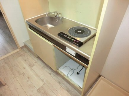 ヒルズ喜多山 401号室のキッチン