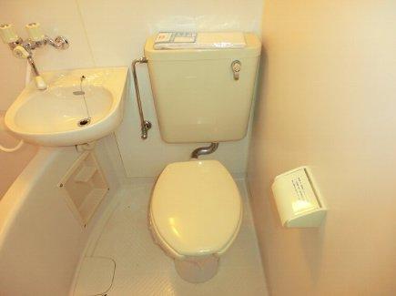 ヒルズ喜多山 401号室のトイレ