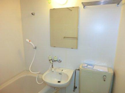 ヒルズ喜多山 401号室の洗面所