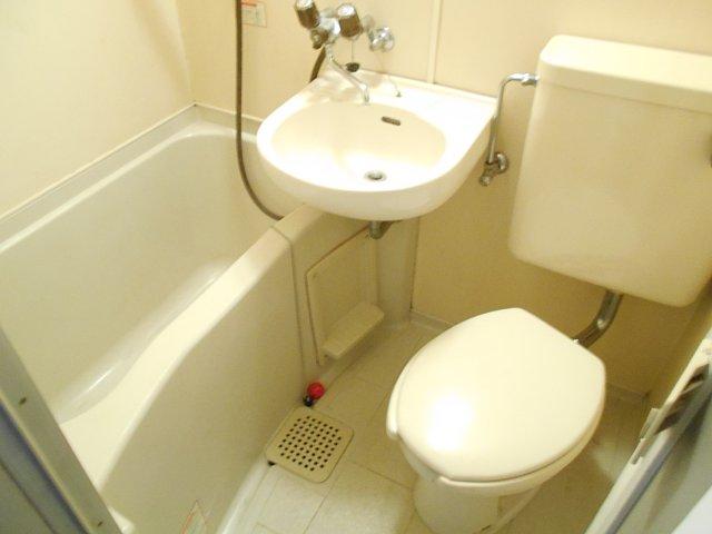 レモンホームすすきの 105号室の風呂