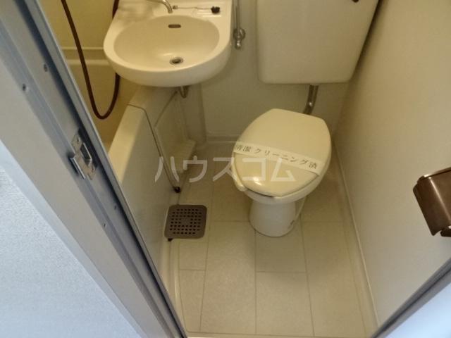 ビアメゾン高幡不動 207号室のトイレ
