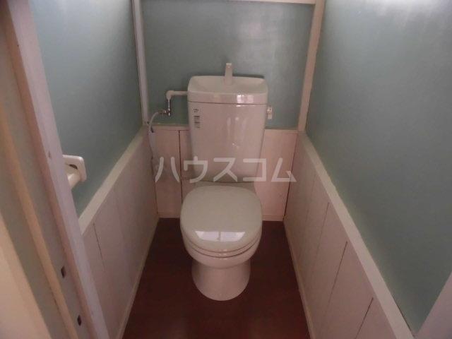 コーポ落合 101号室のトイレ