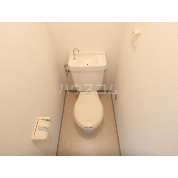 光壱番館 204号室のトイレ