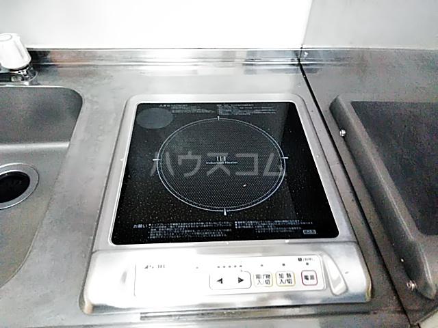 スプリングシールド 108号室のキッチン