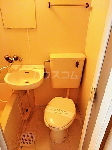 スプリングシールド 108号室のトイレ