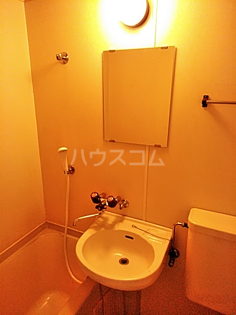 スプリングシールド 108号室の洗面所