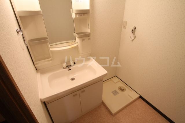 シェソワ 202号室の洗面所