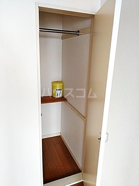 スプリングシールド 205号室の収納