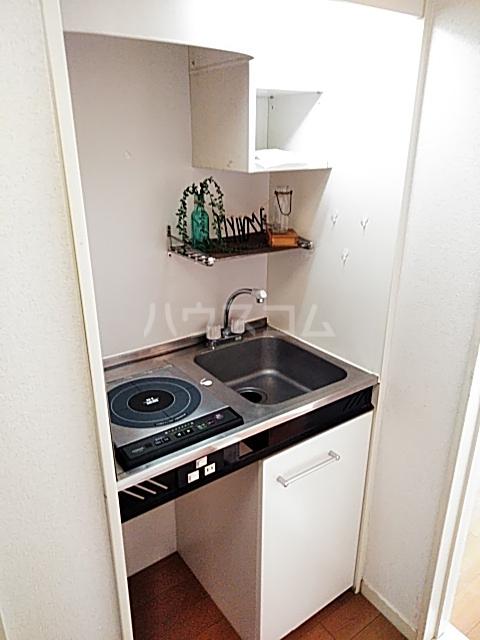 スプリングシールド 205号室のキッチン
