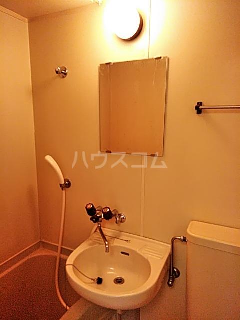 スプリングシールド 205号室の洗面所