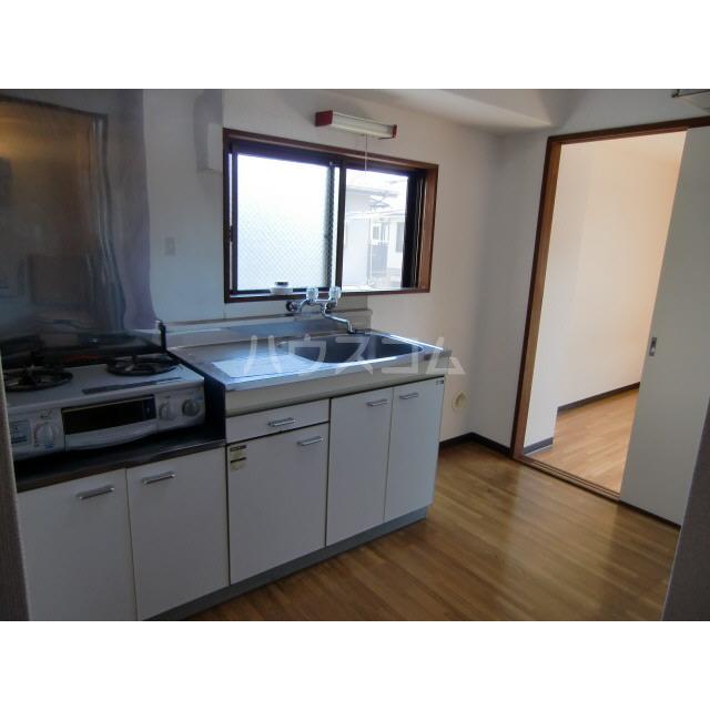 メゾン高幡 201号室のキッチン
