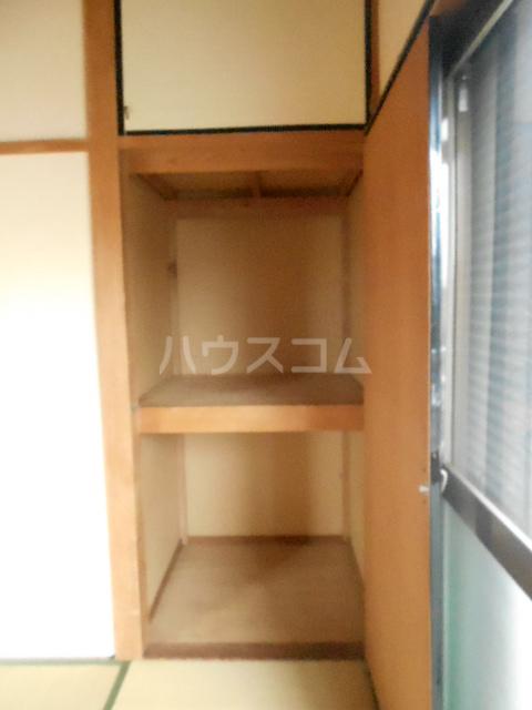 榎本荘 101号室の収納