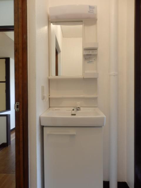 グリーンハイツ 201号室の洗面所