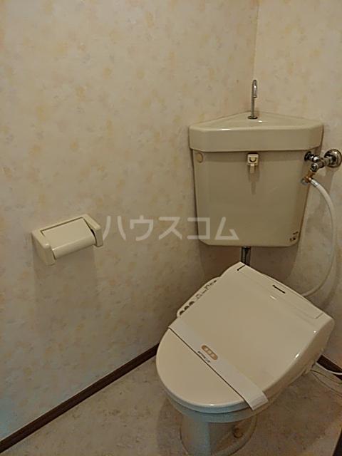 エステート・ニューミー 201号室のトイレ