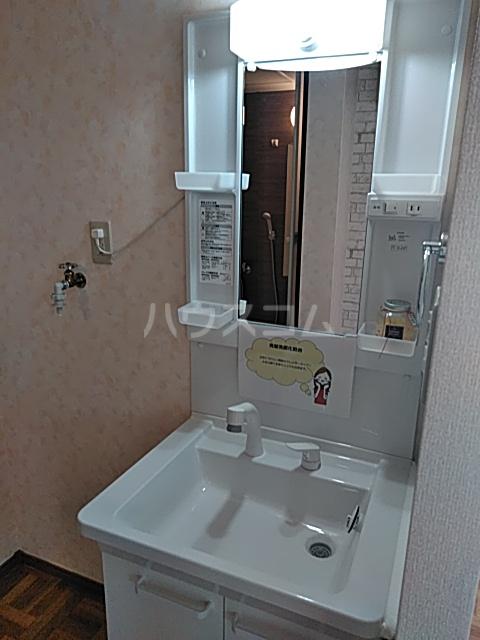 エステート・ニューミー 201号室の洗面所