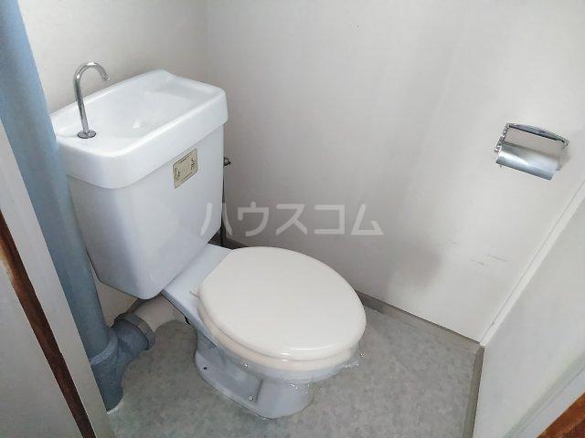 高柳ハイツ 307号室のトイレ