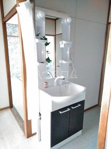 高柳ハイツ 307号室の洗面所