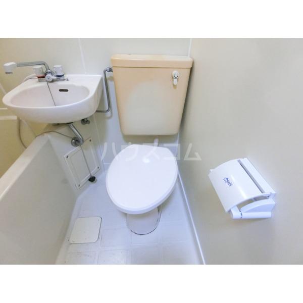 キャステール 307号室のトイレ