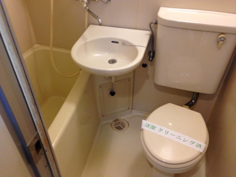 田邊ビル 301号室のトイレ