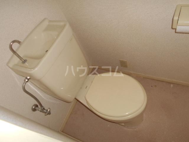 イーストコート大山寺 104号室のトイレ