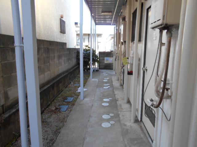 サンウッドメイツ85 205号室の玄関