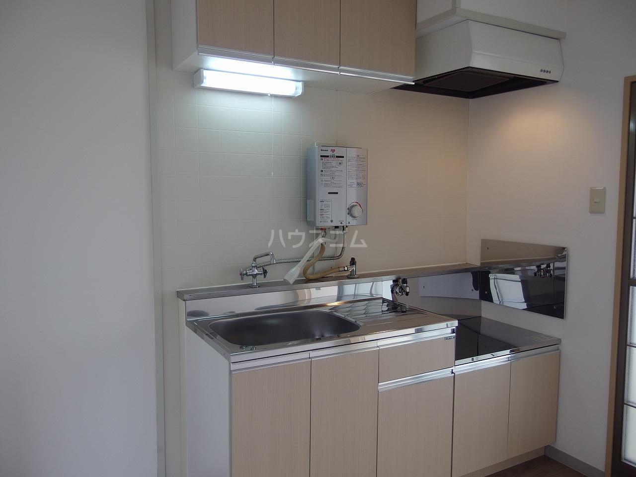 ヒルトップハイツB棟 201号室のキッチン