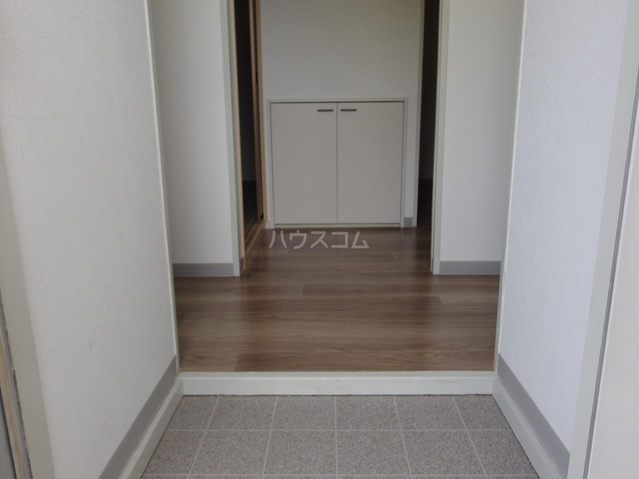 ヒルトップハイツB棟 201号室の玄関